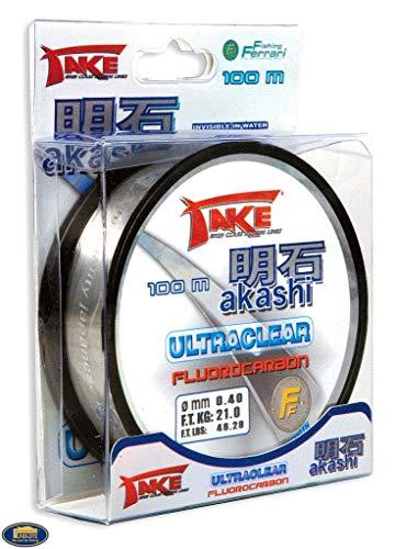 TAKE Akashi Ultraclear - Sedal de pesca (de...