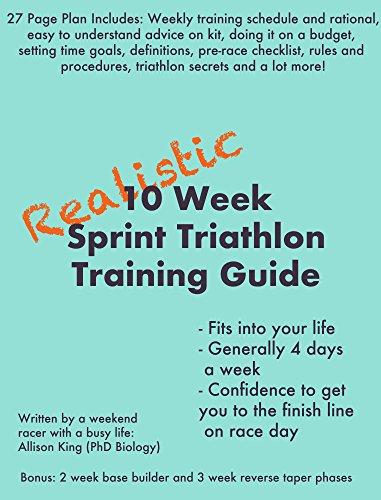 Realistic 10 Week Sprint Triathlon Training Plan: By Fully Fit Plans