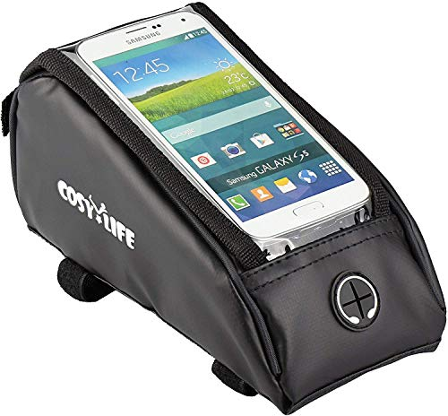 Cosy Life Bicycle Frame Bag/Frame Pouch with Smartphone Compartment