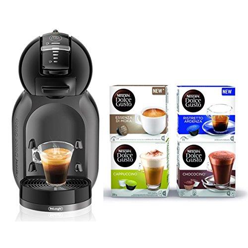 De Longhi 0132180647Maschine für Kaffee Espresso und andere Getränke, 60W, 0.8liters, schwarz/grau
