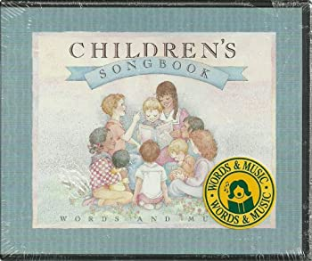 Children s Songbook  Words and Music  Audio CD s
