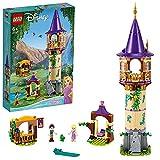 LEGO43187DisneyPrincessTorredeRapunzelJuguetedeConstrucciónparaNiñosyNiñas+6añoscon2MiniFiguras