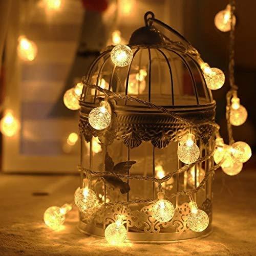 Luces navideñas 50 M 400 Bombillas Guirnalda De Navidad Luces Led De...