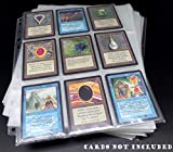 docsmagic.de 100 Premium 9-Pocket Pages - 11-Hole - 3-Ring Album- MTG - YU-Gi-Oh! -...