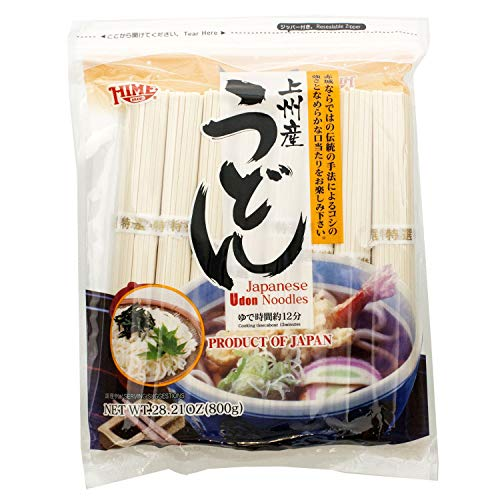 28.21oz Hime Dried Udon Noodles  $6.90 at Amazon