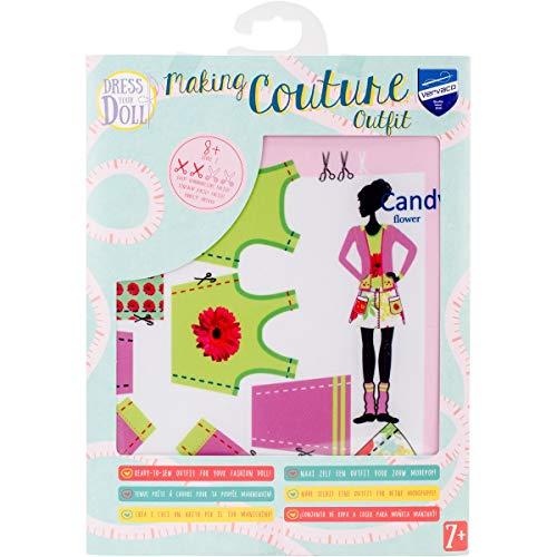 MaRécréation - Vervaco Candy Fleur habiller votre poupée Tenue CE qui la rend Ensemble, Multicolore