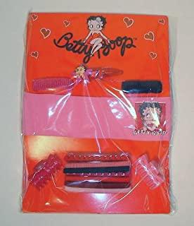 Betty Boop Hair Accessories Set Head Band Hair Clips Pony Tail Holders
