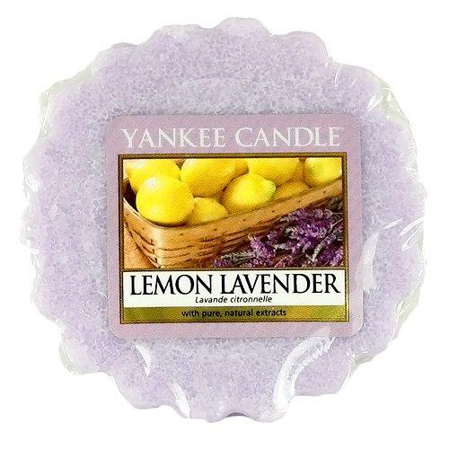 YANKEE CANDLE Lemon Lavender Tart da Fondere, Cera, Porpora, 6.1x5.7x2 cm