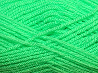 Hayfield Bonus Knitting Yarn DK 886 Bright Green - per 100 gram ball