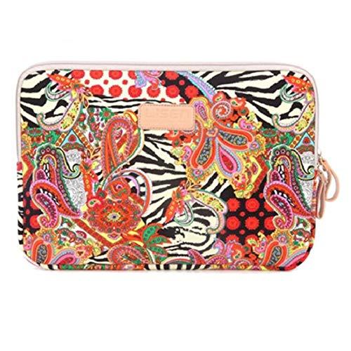 GZA Bolso portátil de Caja de Manga para 11 12 13 14 15 15.6 Pulgadas para iPad 9.7'Bolsas para MacBook Air Pro 13.3 15.4 Cubierta de Cuaderno para HP DELL (Color : 016, Size : 14 Inch)