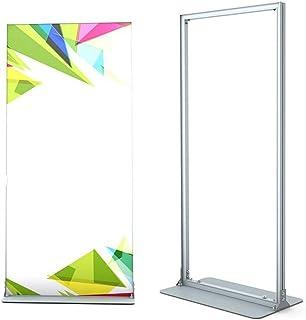 MAATCHH Affichage Floor Stand Affiche Porte-Affiches Présentoir à Poser au Sol en métal Durable Porte-Affiche Présentoir S...