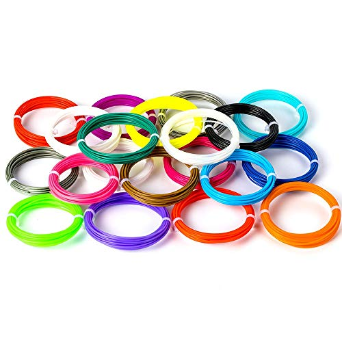 JIALUN ZFX-DAYIN, 1pack 3D Pen ABS Testing Reills 1.75mm Bunte 3D-Pens Glühfaden Sublimation Kinder Scribble Gadget 100% Nein Blase Glühfaden (Color : In Random Color)