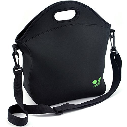 Neoprene Lunch Tote Washable Lunchbox Bag