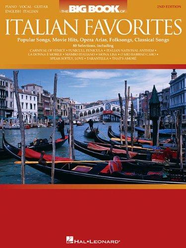 The Big Book of Italian Favorites (Big Books of Music)