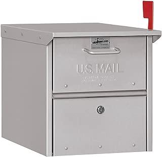 Salsbury Industries 4325SLV, Silver Roadside Mailbox
