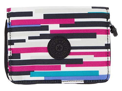 Kipling Money Love RFID Wallet Urban Stripe One Size