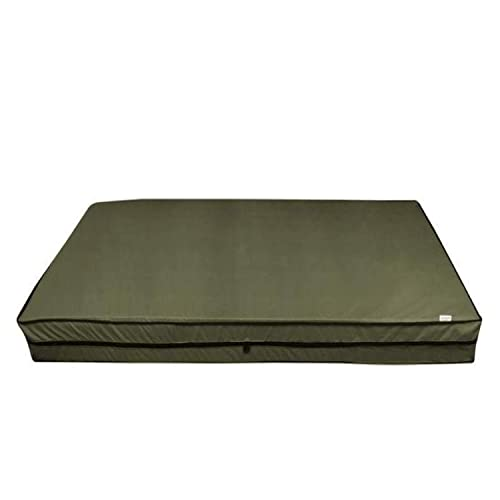 India Furnish Full Cover Zippered Waterproof Mattress Protector(75x36-inch, Mocha Brown)