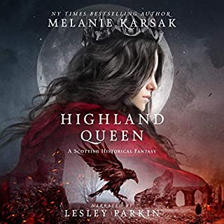 Highland Queen  audiobook cover art