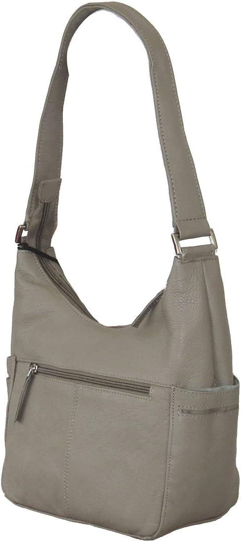 Paul & Taylor Genuine Leather Classic Hobo Shoulder Bag 1649