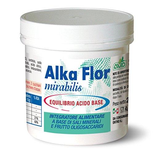 ALKA FLOR 200 Gr - Alcalinizzante - Equilibrio Acido-Basico - Prodotto in polvere Made in Italy