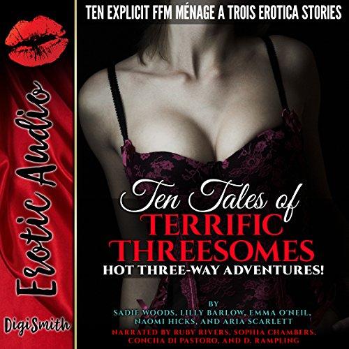 Ten Tales of Terrific Threesomes cover art