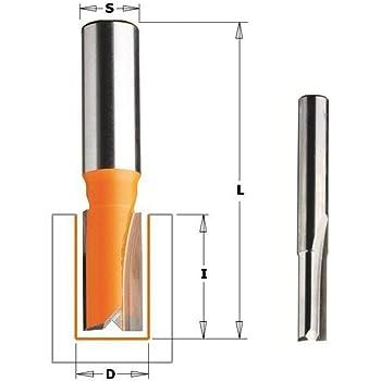 Fresa recta hm s 8 d 10x30 CMT Orange Tools 912.100.11
