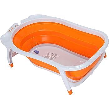 KARIBU [ カリブ ] Folding Bath Orange オレンジ PM3310 折り畳み式 バス