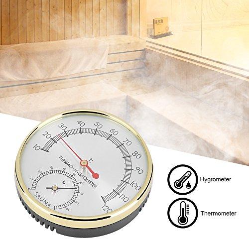 FTVOGUE 2 in 1 Sauna Igrothermograph Indoor