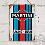 BNTN Martini Racing Replica Vintage Tin Sign Metal Sign