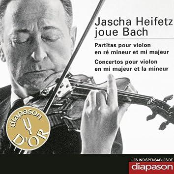 Bach: Partitas & Concertos pour violon (Les indispensables de Diapason)