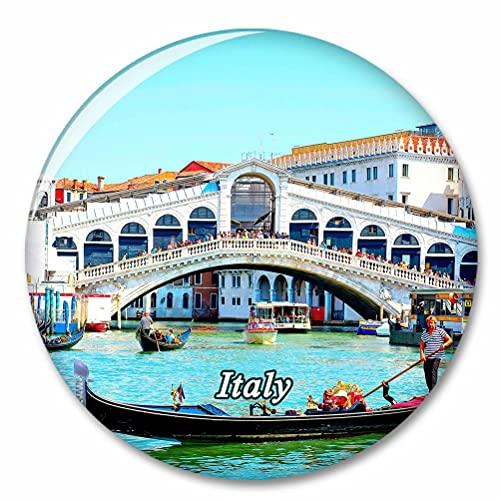 Italia Ponte Rialto Venecia Imán de Nevera, imánes Decorativo, abridor de Botellas, Ciudad turística, Viaje, colección de Recuerdos, Regalo, Pegatina Fuerte para Nevera