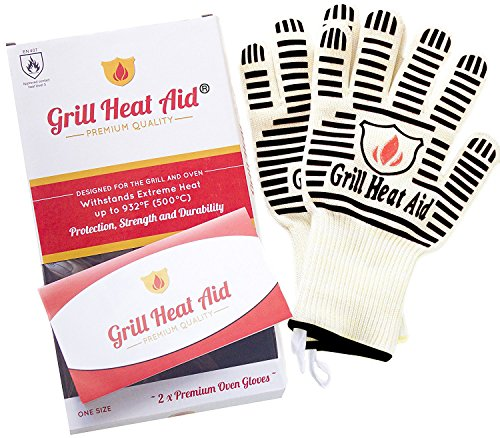 GRILL HEAT AID Extreme Heat Resistant BBQ...
