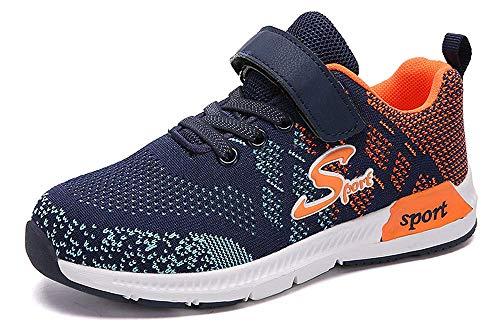 Zapatillas Deportivas Unisex para Niños Niña Running Zapatos de Deporte de Los Muchachos Antideslizante Zapatos de Correr 28-39