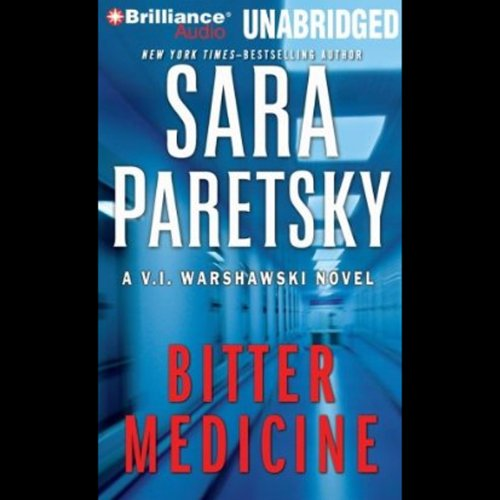 Bitter Medicine audiobook cover art