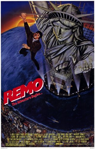 Remo Williams: the Adventure Begins Poster Drucken (27,94 x 43,18 cm)