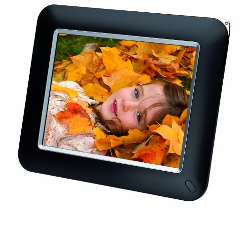 Medion Life E76024 20,3 cm (8 Zoll) Digitaler Fotorahmen (800 x 600 Pixel,Slideshow-Funktion, Alarm)