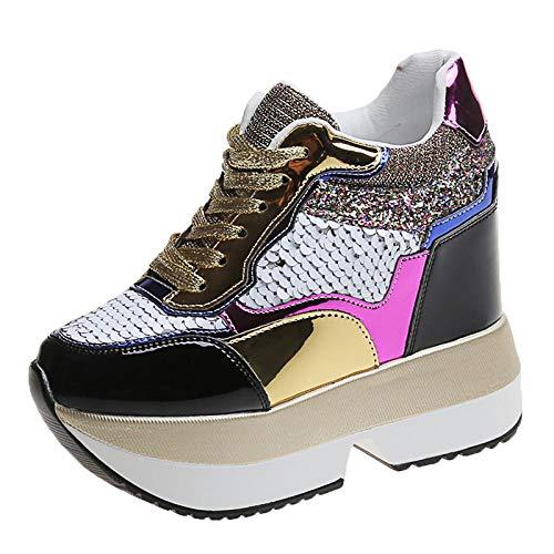 Sneakers Dames Platform Witte sneakers Zachte schoenen Casual Flats Ademend Zacht Femme