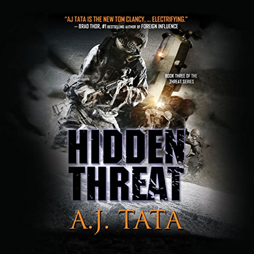 Hidden Threat audiobook cover art