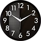 RAG28 Plastic Designer Wall Clock for Home/Living Room/Bedroom/Kitchen (11.75 Inches)