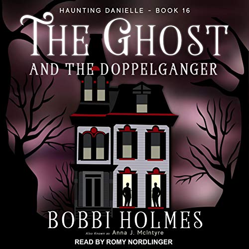 The Ghost and the Doppelganger audiobook cover art