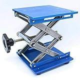 ELECTROPRIME 1X(6inch Aluminum Lab-Lift Lifting Platforms Stand Rack Scissor Lab Jack 15 S7J9
