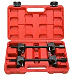 FreeTec 2Pc Coil Spring Compressor for MacPherson Struts Shock Absorber Car Garage Tool Kit