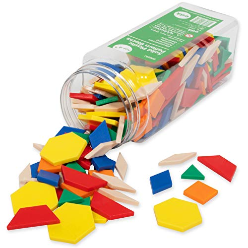 250-Piece edxeducation Plastic Pattern Blocks Only $10.79 (Retail $15.99)
