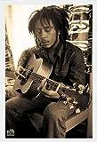 Marley, Bob - Sepia - Musikposter Raggae Bob Marley -