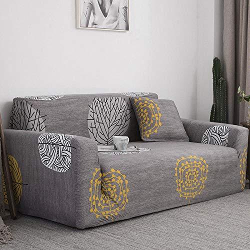 Funda de Sofá,Fundas de sofá en Forma de L para Sala de Estar Fundas de sofá elásticas, Funda de sofá Funda de Esquina elástica Chaise-A 4 plazas 235-300cm (1 Pieza)
