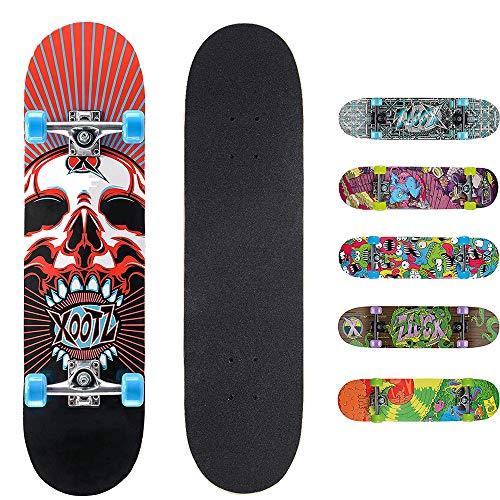 Osprey xootz skull skateboard