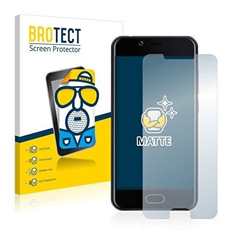 BROTECT 2X Entspiegelungs-Schutzfolie kompatibel mit Doogee Shoot 2 Bildschirmschutz-Folie Matt, Anti-Reflex, Anti-Fingerprint