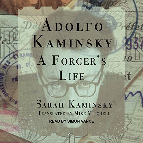 Adolfo Kaminsky audiobook cover art