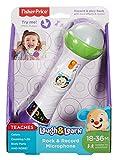 Mattel FBP33 Micrófono de juguete juguete musical - Juguetes musicales (Micrófono de juguete, Multicolor, Batería, Alcalino, AAA, 150 mm)