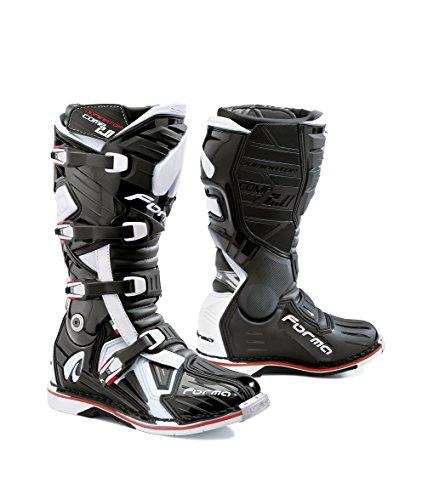 Forma Stiefel Moto Dominator Comp 2.0Eichzulassung CE, Schwarz, 47